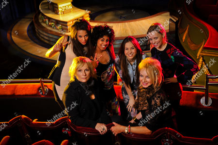 'Viva' Jennifer Saunders & Judy Craymer with(L-R) Hannah John-Kamen, Siobhan Athwal, Dominique Provost-Chalkley & Lucy Phelps