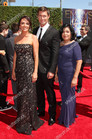 Stock Image of Jenni Pulos, Jeff Lewis and Zoila Chavez