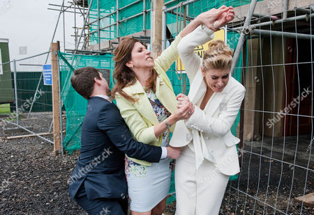FROM ITVFROM ITV Emmerdale - Ep 6871 Thursday 15 May 2014 - 2nd Ep In a gazebo outside Home Farm Charity Sharma [EMMA ATKINS] and Declan Macey's [JASON MERRELLS] small wedding service begins. With just Megan Macey [GAYNOR FAYE], Robbie Lawson [JAMIE SHELTON], Noah  Sharma [JACK DOWNHAM] and the Registrar in attendance it's a low-key affair. But it seems Megan is doing all she can to sabotage the ceremony. Just as the wedding rings are needed they are found to be missing and Robbie leaves to track them down, whilst Charity looks for an alternative solution.  When the fire alarm suddenly goes off, the registrar is interrupted just at the point before she is able to pronounce them husband and wife. The penny drops for Charity that Megan is behind the day's antics. Charity is swift to throw a punch but will she tie the knot?