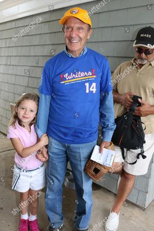Editorial photo of East Hampton Artists & Writers celebrity softball match, New York, America - 16 Aug 2014