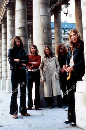 Mott the Hoople - Peter 'Overend' Watts, Verden Allen, Mick Ralphs, Ian Hunter and Dale 'Buffin' Griffin -  1972