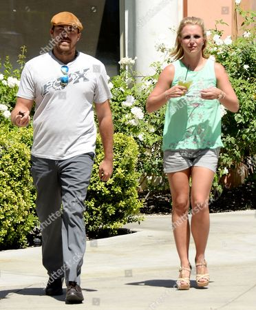 Stock Image of David Lucado and Britney Spears
