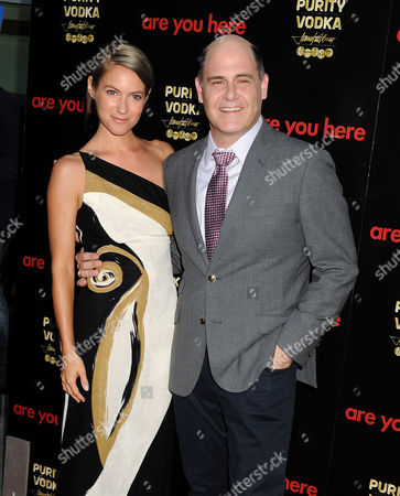 Laura Ramsey and Director Matthew Weiner