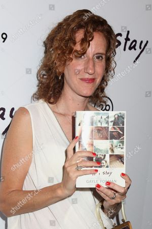 Gayle Forman, author and executive producer