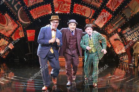 Harry Morgan as Nicely Nicely Johnson, Peter Polycarpou as Nathan Detroit, Ian Hughes as Benny Southstreet