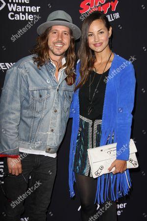 Cisco Adler and wife Barbara