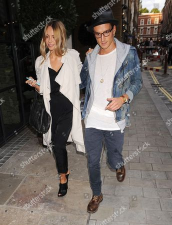 Oliver Proudlock and Emma Lou