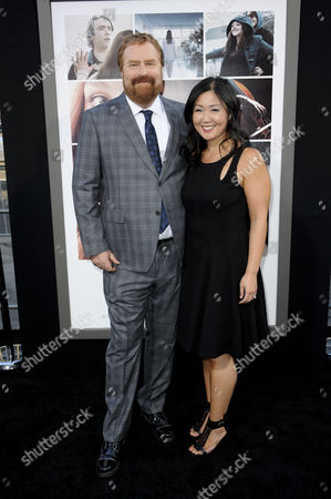 Stock Photo of RJ Cutler and Jane Cha