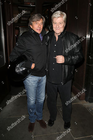 Nigel Havers and Martin Jarvis