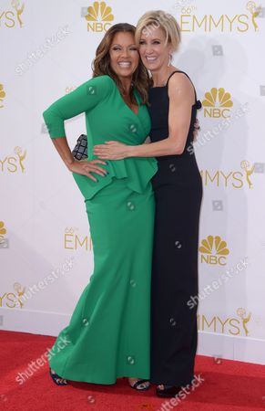 Felicity Huffman and Vanessa L. Williams