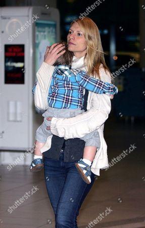 Claire Danes and son Cyrus Dancy