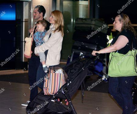 Hugh Dancy, Claire Danes and son Cyrus Dancy