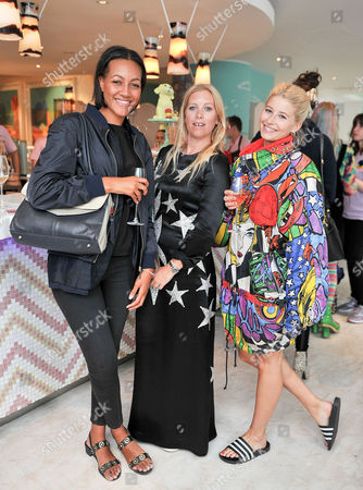 Alice Casely-Hayford, Victoria Young and Phoebe-Lettice Thompson