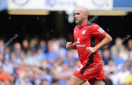 Gary Taylor-Fletcher of Leicester City carries some extra weight