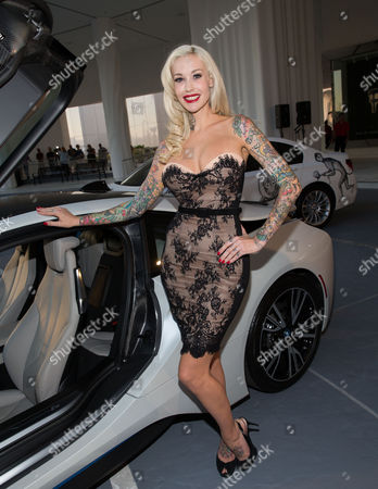 Editorial picture of SLS Las Vegas Grand Opening, Las Vegas, America - 22 Aug 2014