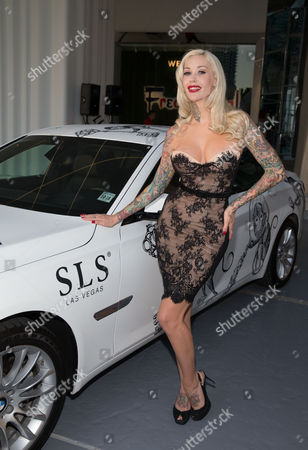 Editorial photo of SLS Las Vegas Grand Opening, Las Vegas, America - 22 Aug 2014