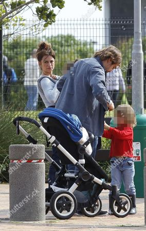 Javier Bardem and Penelope Cruz with son Leo Encinas Cruz and daughter Luna Encinas Cruz