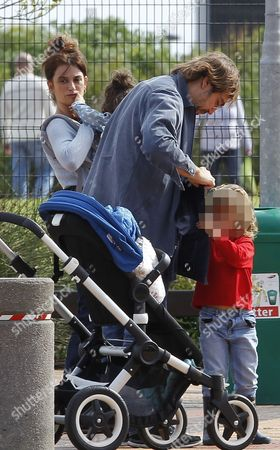 Editorial image of Penelope Cruz and Javier Bardem out and about, Cape Town, South Africa - 23 Aug 2014