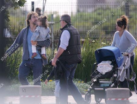 Javier Bardem and Penelope Cruz with daughter Luna Encinas Cruz