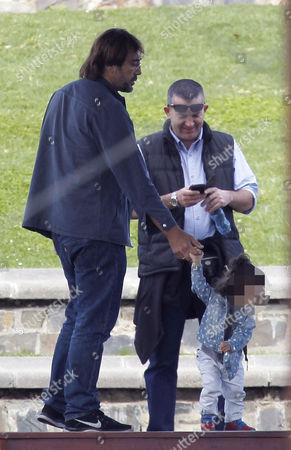 Javier Bardem with daughter Luna Encinas Cruz