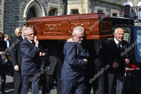 Coffin of Gerry Anderson
