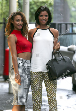 Amelle Berrabah and Lucy Mecklenburgh