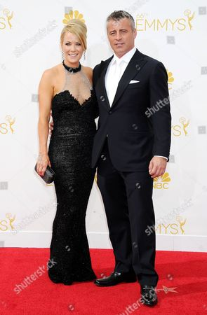 Matt LeBlanc and Andrea Anders