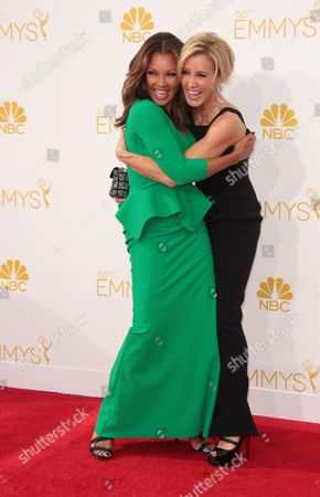 Vanessa L. Williams and Felicity Huffman