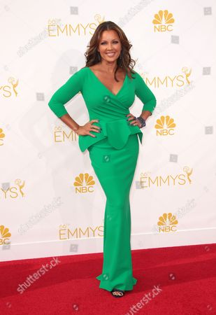 Editorial picture of The 66th Annual Primetime Emmy Awards, Arrivals, Los Angeles, America - 25 Aug 2014