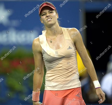 Stock Picture of Maria Kirilenko of Russia in action at the US Open