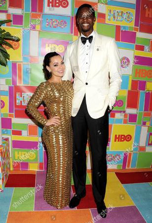 Chris Bosh and Adrienne Williams Bosh