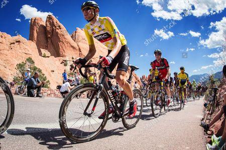 Tejay VanGarderen (USA) BMC Team race leader USPCC Tour of Stage 4 Garden of the Gods Colorado