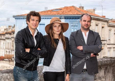 Guillaume Canet ; Ana Girardot and Cedric Anger