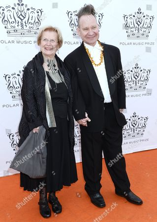 Peter Sellars with his mother