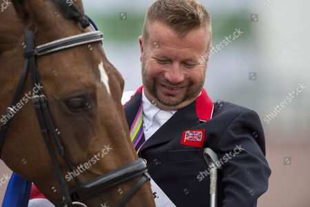Lee Pearson and Zion World Champion in the Individual Test Grade Ib Para Dressage - Alltech FEI World Equestrian Gamesª 2014 - Normandy, France.