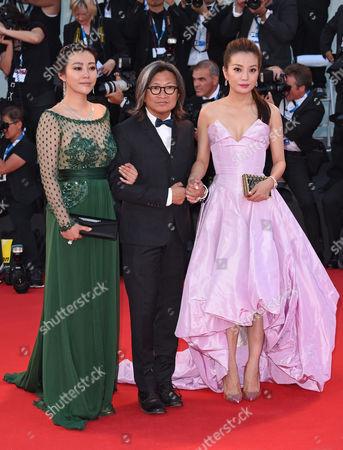 Zhao Wei, Peter Chan and Lei Hao