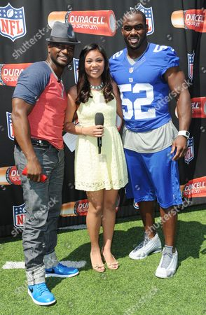 Editorial picture of Duracell Powers the NFL Event, New York, America - 27 Aug 2014