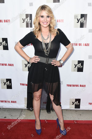 Editorial picture of 'Youthful Daze' TV Series premiere, Los Angeles, America - 27 Aug 2014