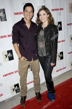 Mike Manning and Jen Lilley