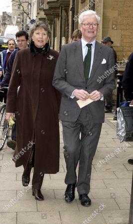 DOUGLAS HURD AND WIFE