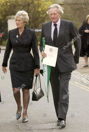 MICHAEL HESELTINE AND WIFE ANNE