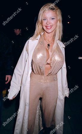 Editorial photo of BRIT AWARDS AFTER SHOW PARTY AT THE K BAR, LONDON, BRITAIN - 20 FEB 2003