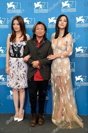 Zhao Wei, director Peter Ho-Sun Chan, Hao Lei