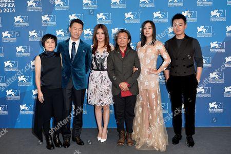 Director Peter Ho-Sun Chan and cast Zhao Wei, Huang Bo, Tong Dawei, Hao Lei, Zhang Yi