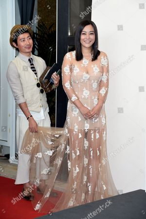 Hao Lei and assistant