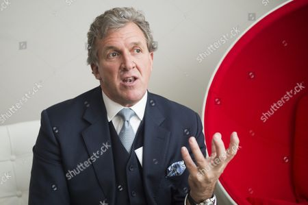Editorial image of Garry Cook, vice president of UFC, Britain - 21 Aug 2014
