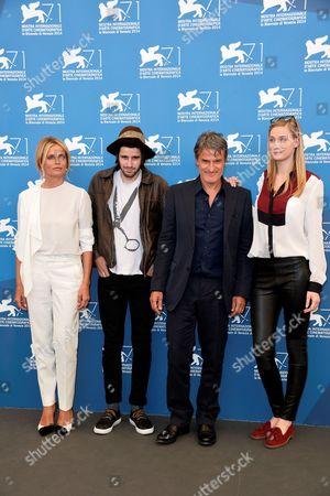 Isabella Ferrari, director Renato De Maria, Clement Metayer, Eva Riccobono