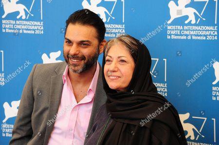 Peyman Moaadi and Rakhshan Bani-Etemad