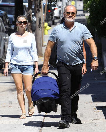 Kayte Walsh and Kelsey Grammer with Gabriel Elias