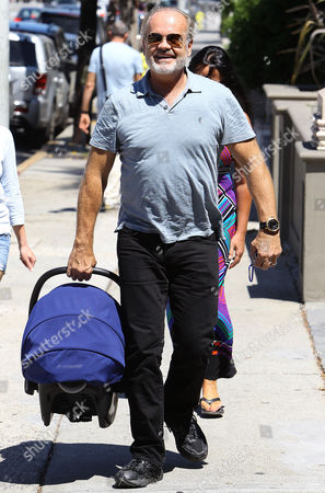 Kelsey Grammer with son Gabriel Elias